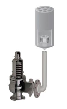Noise protection for valves Model EFSASIN-V
